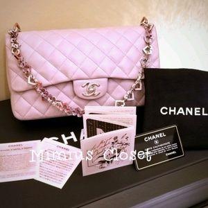 2b6e65e6e89d CHANEL Bags | Part 1 Authentic Valentine Lavender Purse | Poshmark